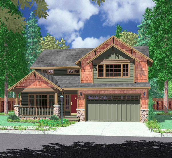 House Plan Garage In Front House Design Ideas
