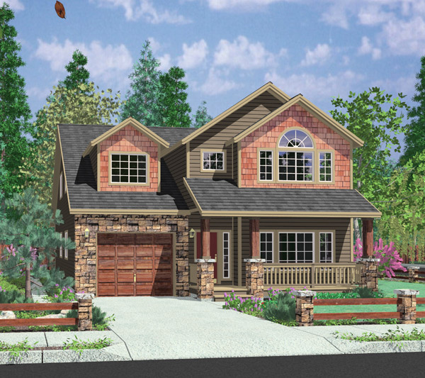 house plans duplex plans row home