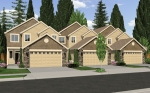 Row Homes | Plan T-392