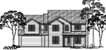 house plans,  home plans, duplex plans, row homes, multi-family house plans | Plan 9936wd