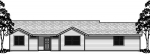house plans,  home plans, duplex plans, row homes, multi-family house plans | Plan 10065