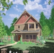 house plans,  home plans, duplex plans, row homes, multi-family house plans | Plan 10101