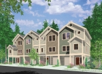 Row Homes | Plan F-558