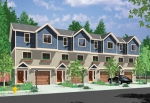Row Homes | Plan F-549