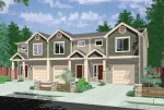house plans,  home plans, duplex plans, row homes, multi-family house plans | Plan T-397
