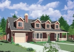 house plans,  home plans, duplex plans, row homes, multi-family house plans | Plan 10107