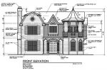 house plans,  home plans, duplex plans, row homes, multi-family house plans | Plan 10131